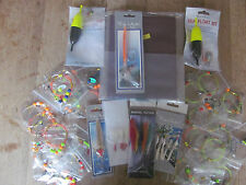Sea fishing Rig Pack x 30 rigs, rig Wallet, 3 feathers, 2 x Float kit, Spinner