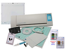 New Silhouette CAMEO V2 Digital Cutting Machine + Pixscan Starter Bundle