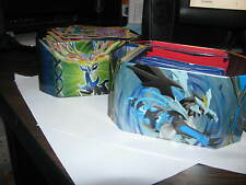 Two tins FULL of pokemon, plus really rare ones (see list)