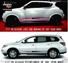 Fits NISSAN Sentra Juke 350Z Versa Maxima Rogue Murano Etc. Rocker Panel Stripes