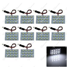 10X White Car 12 SMD 3528 LED Panel Festoon Light With T10 Adapter ZJ101
