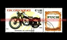 PUCH 200 1938 - NICARAGUA : Timbre Poste Moto