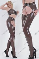 554 Latex Rubber Gummi outfits Bra set pants legginngs trousers customized 0.4mm