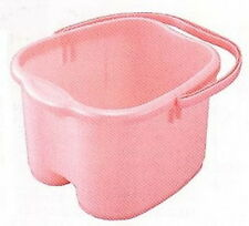 Japanese Foot Detox Spa Bath Bucket Tub Pink #0036