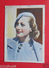 actors acteurs figurine cards nestle stars of the silver screen 58 joan crawford