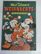 Micky Maus Sonderheft 8 Weihnachts-Sonderheft Bastelbogen Disney Ehapa Sun 2 P