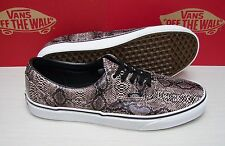 Vans Era Snake Black Khaki Men's Size 10