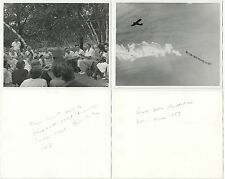 GROUP OF 5 PHOTOS 1 CONTACT SHEET INFO ON BACK ELEANOR ROOSEVELT + AFL CIO