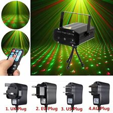 Mini R&G Auto/Voice Xmas DJ Disco Party LED Laser Stage Light Projector & Remote