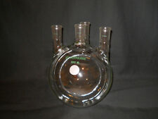 Chemglass Vertical 4-Neck 5000mL 5L Round Bottom Boiling Flask 29/42 Joints