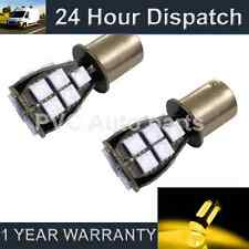 2X 382 1156 BA15s 207 P21W AMBER 18 SMD LED REAR INDICATOR LIGHT BULBS RI201202