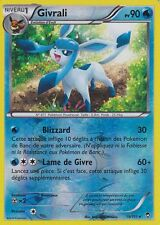 CARTE POKEMON - GIVRALI -  19/111 - 90PV - XY- POINGS FURIEUX - HOLO REVERSE