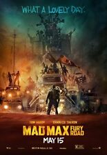POSTER MAD MAX FURY ROAD CHARLIZE THERON TOM HARDY MEL GIBSON INTERCEPTOR #3