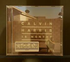 CALVIN HARRIS - 18 Months - CD Album *Bounce, Feel So Close*
