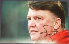 Louis van Gaal signed photo (Bayern Munich, Barcelona, Man Utd)
