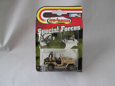 Majorette Special Forces 1/54 Military Jeep CJ #268 2 Solider Figures Thailand