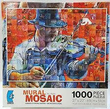 CEACO® 1000pc MURAL MOSAIC • THE FIDDLER • PUZZLE JigSaw 1000 PIECE USA MADE