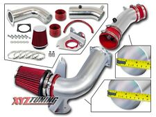 "3.5"" RED Cold Air Intake Induction Kit + Filter For 99-04 Mustang Base 3.8L V6"