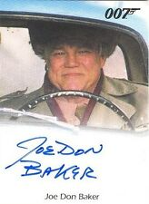 2015 James Bond Archives Joe Don Baker Jack Wade Full-Bleed AUTOGRAPH Card RARE!
