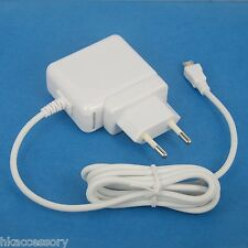5V 2A AC Adapter Wall Charger w/ European CE Plug WHITE for Samsung Galaxy Tab A