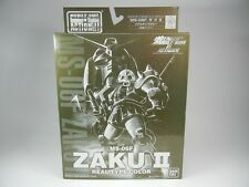 """Extended MSIA """"MS-06F ZAKUⅡReal Type Color ver."""" Figure EMSIA MIA BANDAI New"""