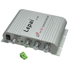 Lepai LP-838 AMPLIFICATORE AUDIO STEREO Hi-Fi 2.1 3  per Car PC Ipod MP3 / 4