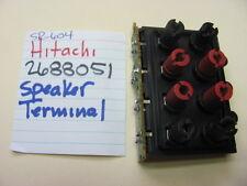 HITACHI SR-604 2688051 STEREO RECEIVER SPEAKER TERMINALS