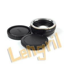 Optical Focal Reducer Speed Booster adapter Canon EOS Lens to Sony NEX 3N 6 5N 7