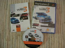 PLAYSTATION 2 PS 2 WRC 3 EL JUEGO OFICIAL DEL FIA WORLD RALLY CHAMPIONSHIP