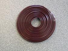 WOHNWAGEN/WOHNMOBIL PVC MARKISE SCHIENE AUSFACHUNG STREIFEN 11MM X 50M MULBERRY/