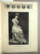 Vogue Magazine - 1905 ~~ Bound Volume of 32 issues from 1905