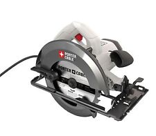 PORTER-CABLE 15-Amp 7-1/4-in Corded Circular Saw Heavy-Duty Power Cutting Tool