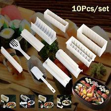 10pcs/set Sushi Maker Kit Reisrolle Formenbau Heiß