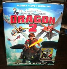 New Sealed How To Train Your Dragon 2 (Blu-ray Disc & DVD, 2014)w