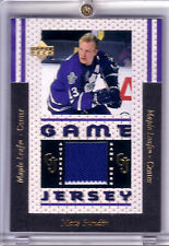 MATS SUNDIN 96/97 UD GAME USED 2C JERSEY 1:2500 PACKS