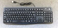 Logitech Y-U0009 820-004515 Business USB Wired Qwerty UK Black Keyboard K120