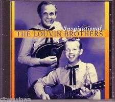 LOUVIN BROTHERS Inspirational 2001 Oop CD Country Gospel Bluegrass Ira & Charlie