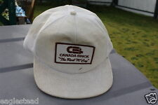 Ball Cap Hat - Canada Brick - The Real McCoy (H647)