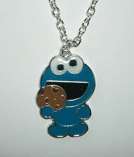 Krümelmonster Kette Sesamstrasse Rockabilly Cookie-Monster Kult Retro Blau Keks