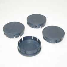 4 Plain Wheel Tire Center Hub Caps 60mm Cover Insert For Ford Focus Mondeo Ka