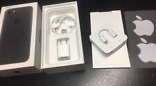 Apple Iphone 7 Black 32gb Box Only With Brand New Accessories Inside! Retail Box