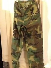 US Army Trousers, Cold Weather Camoflauge woodland size: Extra Small Regular