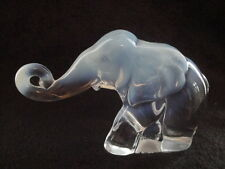 88 Heisey by Imperial by Fenton Elephant MARKED FENTON ALIG HCA--ONE OF A KIND