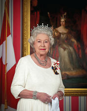 "Queen Elizabeth II Portrait 14 x 11"" Photo Print"