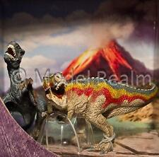 Schleich T-Rex and Velociraptor small 42216 Playset Dinosaur Figures