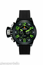 Colibri  FIREBIRD FB104 Men's Black and Green Chronograph Watch free fast ship