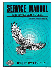 1986-1990 Harley Sportster Evo 883 1100 1200 XLH Service Repair Manual 99484-90