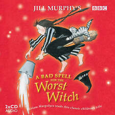 A BAD SPELL FOR THE WORST WITCH - JILL MURPHY - CD AUDIO BOOK - NEW/SEALED