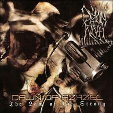 DAWN OF AZAZEL-LAW OF THE STRONG  CD NEW
