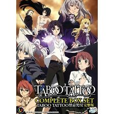 Taboo Tattoo Vol. 1-12 end Japanese Anime DVD English Subtitles